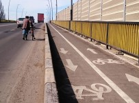 pistele pentru biciclete