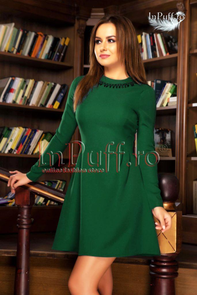 rochie-scurta-verde-inchis-cu-maneca-lunga-1477400142-4