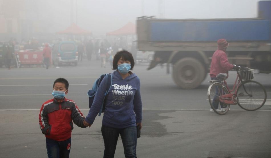 aer poluat